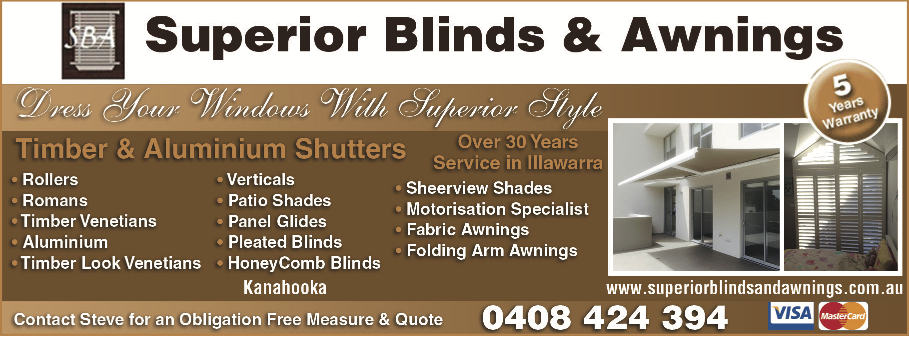 Superior Blinds Awnings In Kanahooka 2530 Nsw 5 Photos 10 Reviews Localsearch