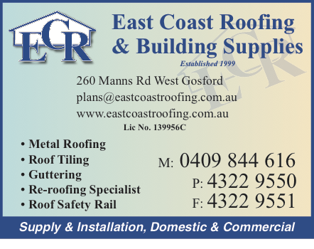 East Coast Roofing Building Supplies In West Gosford 2250 Nsw 5 Photos 1 Review Localsearch