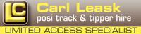 Posi Track & Tipper Hire–Carl Leask