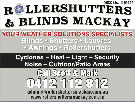 Roller Shutters Blinds Mackay In Mackay 5 Photos 2 Reviews Localsearch